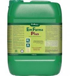 EmFarma Plus mikroorganizmy kondycjonują glebę, kompostują i wypierają chorobotwórczą mikroflorę - 10 L
