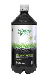 Jak dbać o trawnik?: Witalny Ogród™ - ZDROWY TRAWNIK mikroorganizmy, preparat kondycjonujący do trawnika